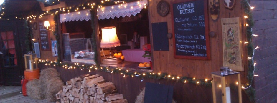 Hüttenzauber Glühweinrutsche Köpenick 2014